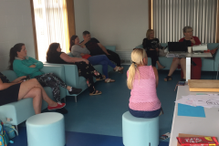 Parents meet with Deirdre Madden from UCC about assistive technologies