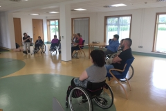 Our weekly adult meet up group at Keith from Rhythm First Aid & Safety Training's talk