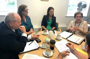 Indiana University School of Medicine visits Crann Project Ireland