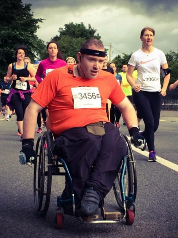 Blog story by Ger Daly, wheelchair-user & athlete