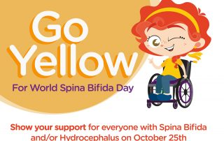 world spina bifida day, spina bifida, awareness, support, charity, campaign, go yellow, crann, crann centre, crann project, cork, kerry, ireland