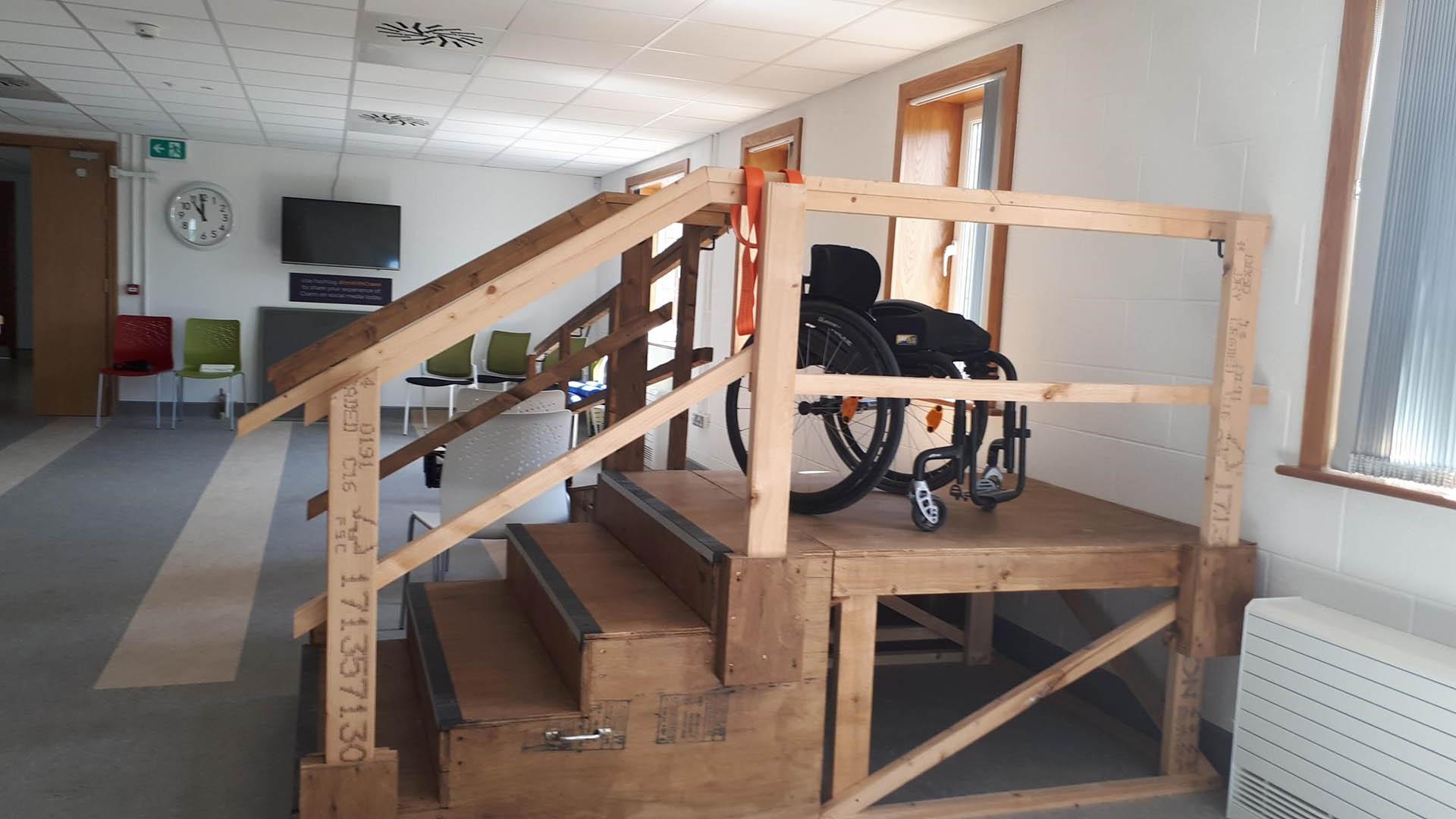 Turas Saol Wheelchair Skills Training