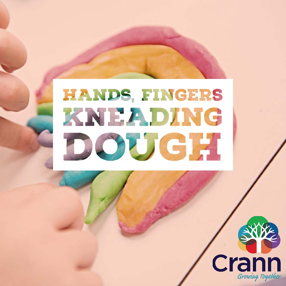Hands, Fingers Kneading Dough