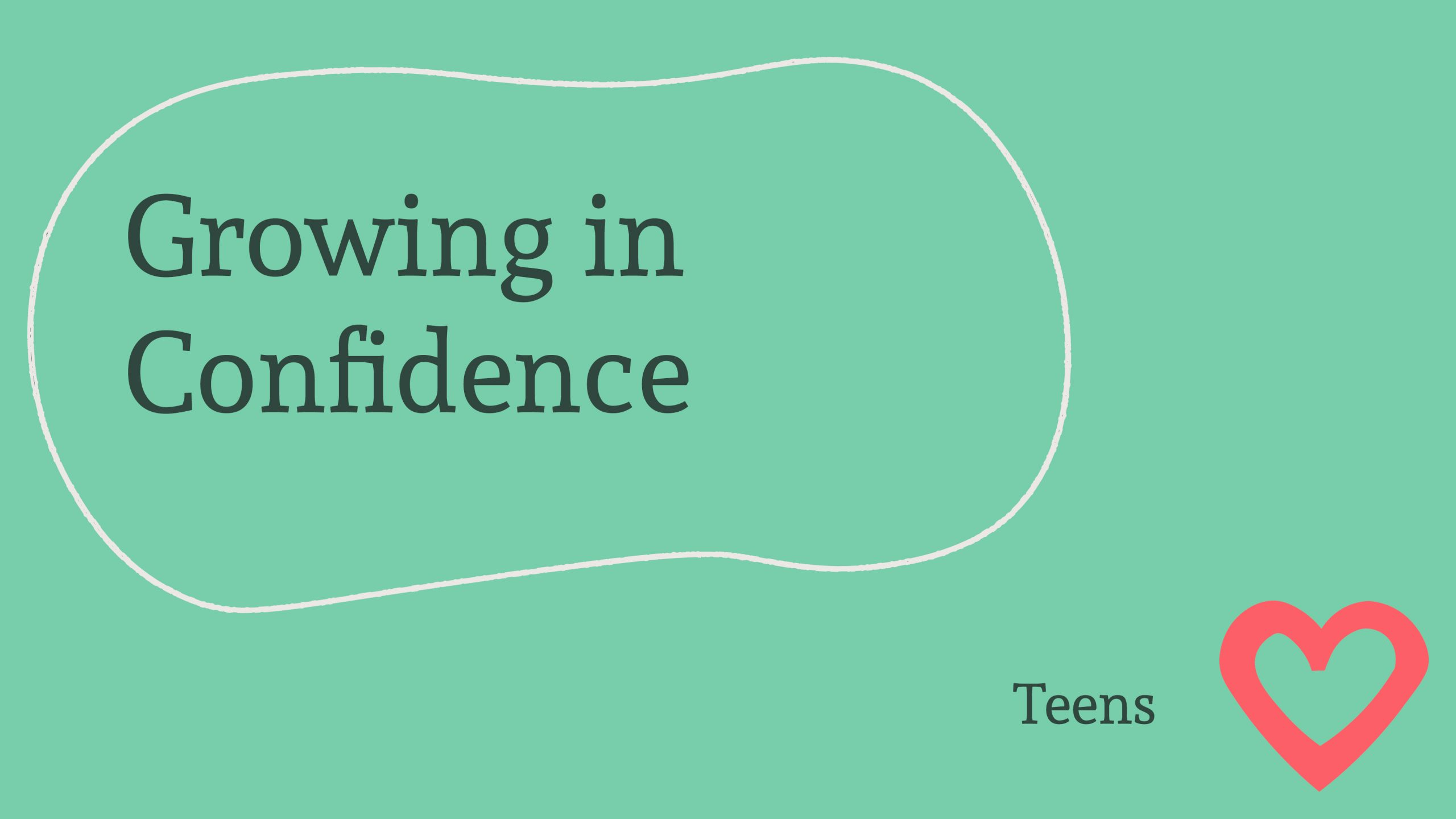 Growing In Confidence Banner Image